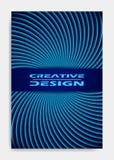 Plantilla para la presentación de la decoración, folleto, catálogo, cartel, libro, revista del diseño de la cubierta libre illustration