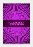Plantilla para la presentación de la decoración, folleto, catálogo, cartel, libro, revista del diseño de la cubierta stock de ilustración
