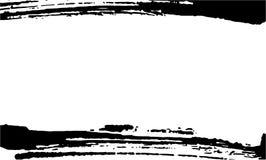 Plantilla para la tarjeta de visita, bandera, cartel, aviador, cuaderno, invitación con texturas dibujadas mano moderna del grung stock de ilustración