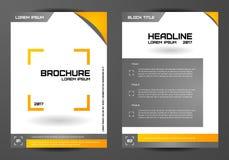 Plantilla para los folletos, las letras, los aviadores, el etc Jeringuilla del concepto design Foto de archivo