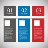Plantilla plana moderna del diseño Imagenes de archivo