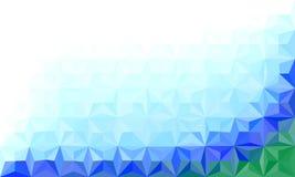 Plantilla poligonal abstracta del color Diseño de concepto para su busin Foto de archivo