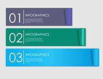 Plantillas de Infographic para el ejemplo del vector del negocio. Fotografía de archivo libre de regalías