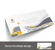 Plantillas de papel del sobre stock de ilustración