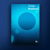 Plantillas del diseño de la cubierta del folleto del folleto del vector fotos de archivo