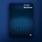 Plantillas del diseño de la cubierta del folleto del folleto del vector stock de ilustración