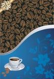 Plantillas del diseño del café Fotos de archivo libres de regalías