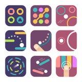 Plantillas del icono del App stock de ilustración
