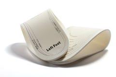 Plantillas del zapato Imagenes de archivo