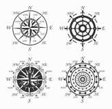 Plantillas náuticas de los logotipos fijadas Vector el objeto y los iconos para Marine Labels, insignias del mar, logotipos del a libre illustration