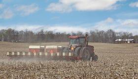 Planting Corn Stock Image