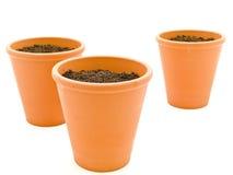Planting pot Stock Photo
