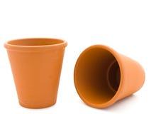 Planting pots Stock Images