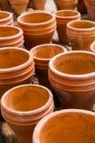Planting pots Stock Photo