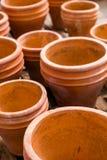Planting pots Royalty Free Stock Photo