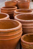Planting pots Royalty Free Stock Photography