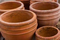 Planting pots Stock Image
