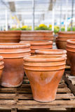 Planting pots Stock Photography