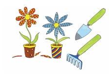 Plantjes Stock Image