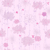 Plants background. Pink Royalty Free Stock Photo