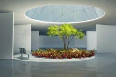 Plants in interior Stock Image