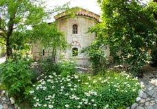 Plants in the park Bachkovski monastery royalty free stock photos