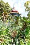 Plants and pavilion in Nikitsky Botanical Garden Royalty Free Stock Image