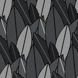 Plants print. Jungle plants print template. Seamless pattern. Vector Stock Photography