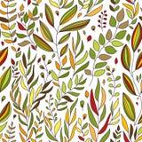 Plants seamless background Stock Photos
