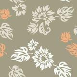 Plants, seamless pattern, wallpaper Royalty Free Stock Photography