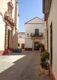 Plants in the street of Carmona Royalty Free Stock Photo