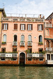 Plants on Venetian Balconies Royalty Free Stock Images