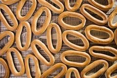 Planty des craquelins ovales durs Image libre de droits