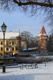 The Planty in Winter - Krakow - Poland Royalty Free Stock Images