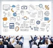 Planu Biznesowego budżeta celu taktyk pomysłów pojęcie Fotografia Stock