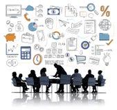 Planu Biznesowego budżeta celu taktyk pomysłów pojęcie Obrazy Stock