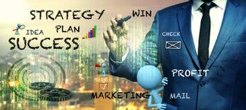 Planu biznesowego pojęcie fotografia royalty free