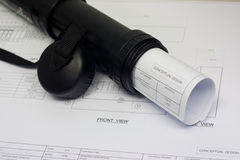 Planu rysunek Fotografia Stock