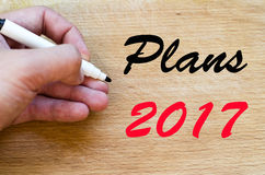 Planu teksta 2017 pojęcie Fotografia Stock