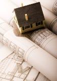 planuje architektury obrazy stock