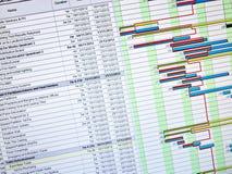 Planung Stockfoto