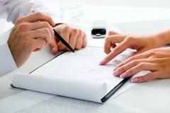 Planung Stockfotografie
