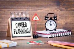 Planung- der beruflichen Laufbahnkonzept stockfotografie