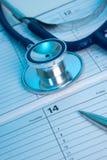 Planung der medizinischen Prüfung lizenzfreie stockfotografie