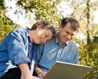 Planung einer glücklichen Zukunft Lizenzfreies Stockbild