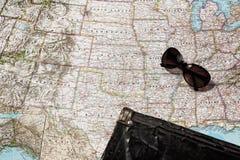 Planung einer Reise lizenzfreie stockbilder
