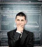 Planung einer Web site Lizenzfreie Stockfotos