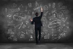 Planung ist ein Schlüssel zum Erfolg Stockfotos