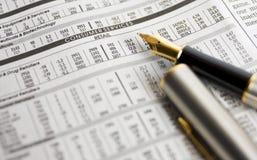 Planung, Kleinanteile zu kaufen Lizenzfreie Stockfotos