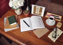 Planung/Zeit-Management/Tagebuch 6 Stockfotos